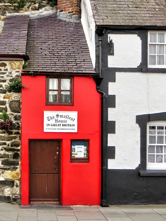 smallest: The smallest house in Great Britain Editorial