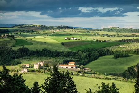 val d'orcia: Farm in Val dOrcia Tuscany