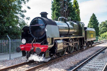 grinstead: U class locomotive at East Grinstead station Editorial