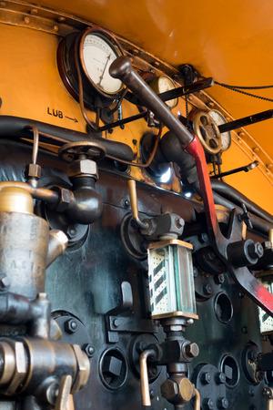grinstead: U class locomotive at East Grinstead station Stock Photo