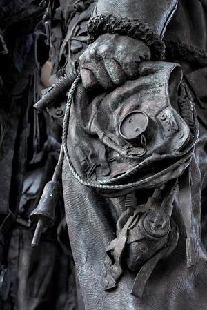 tribute: Philip Jacksons sculpture commemorating RAF Bomber Command