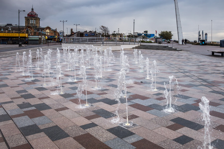 essex: Fountain on Southend seafront in Essex