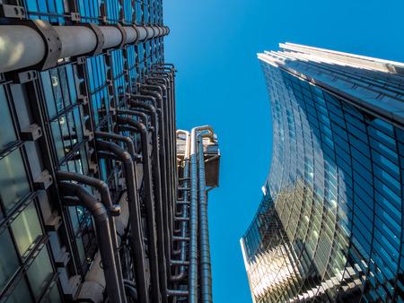 lloyd's: Lloyds of London building Stock Photo