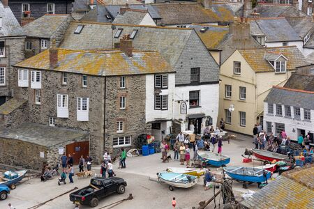A view of Port Isaac in Cornwal photo