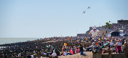 airshow: Airbourne Airshow at Eastbourne 2014