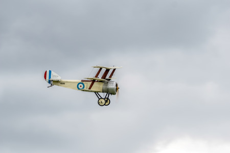 fixed wing aircraft: Great War Display Team - Sopwith Triplane