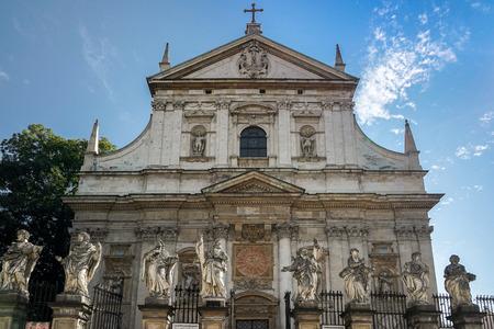 parish: All Saints Parish Church in Krakow