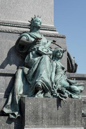 mickiewicz: Adam Mickiewicz Monument in Krakow Stock Photo