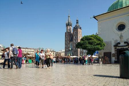 main market: Main Market Square in Krakow