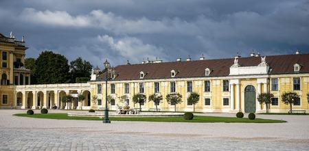 schloss schonbrunn: Schonbrunn Palace in Vienna Austria
