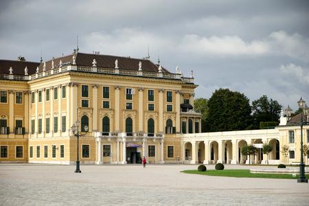 schloss schoenbrunn: Schonbrunn Palace in Vienna Austria