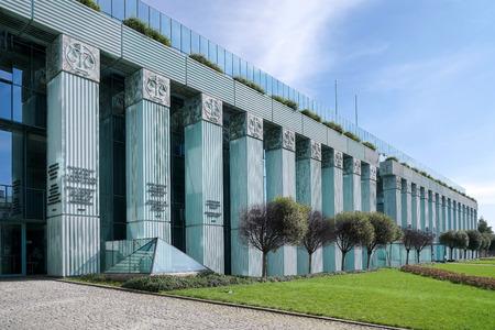 ワルシャワの最高裁 写真素材