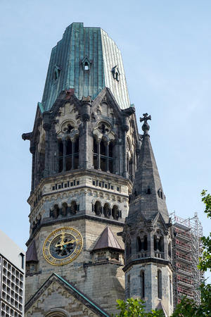 emperor: Emperor Wilhelm Memorial Church in Berlin