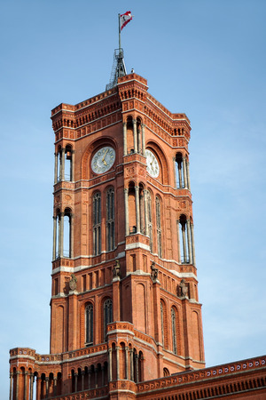 headquaters: The Red Town Hall in Berlin