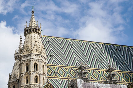 St Stephens Cathedral in Vienna photo