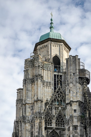 View of St Stephans Cathedral in Vienna
