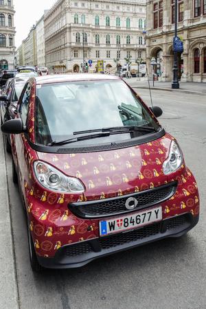 Hotel Sacher courtesy car in Vienna