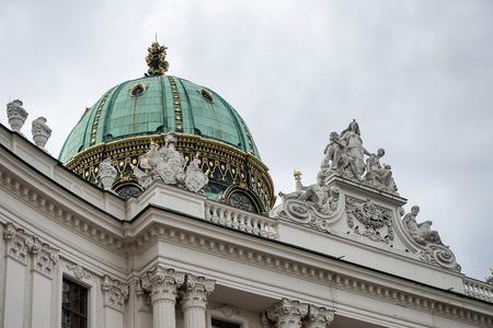 hofburg: Hofburg au Heldenplatz � Vienne