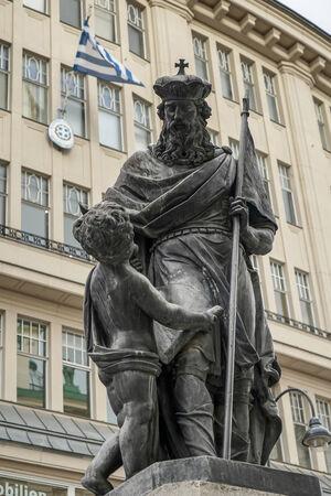 greece granite: Leopolds Fountain at Graben Street in Vienna