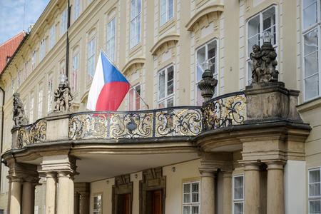 New Royal Palace in Prague