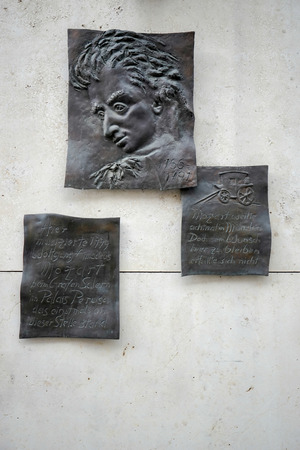 Mozart Relief in Munich