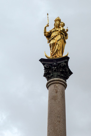 mary's: St Marys Column in Munich