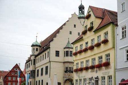 gabled house: Old buildings in Nordlingen