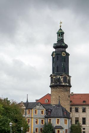 A view of Weimar Castle in Weimar photo