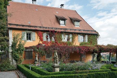 restuarant: Restuarant iin the Castle Gardens in Rothenburg