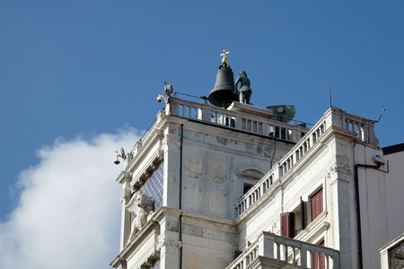 st  mark's: St Marks Clocktower Venice Stock Photo
