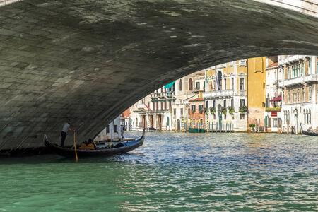 rialto: Underneath the Rialto Bridge Venice