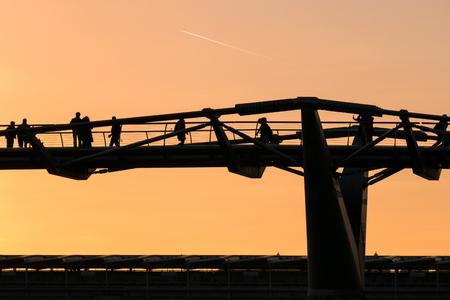 millennium: Millennium Bridge in London