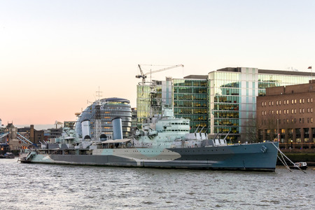 hms: HMS Belfast in London
