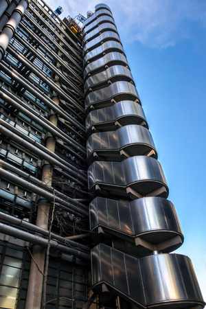 lloyd's of london: View of the Lloyds of London Building Editorial