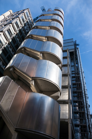 lloyd's: View of the Lloyds of London Building Editorial