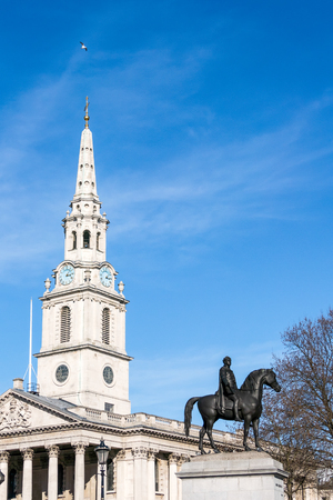 trafalgar: St Martin-in-the-Fields Church  Trafalgar Square