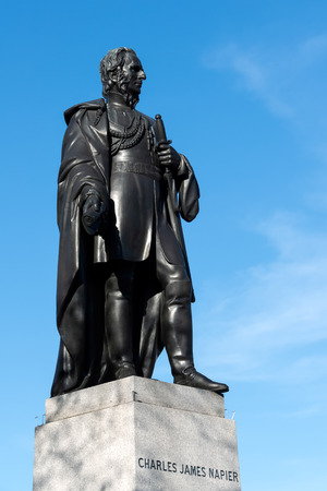 Statue of Charles James Napier in Trafalgar Square