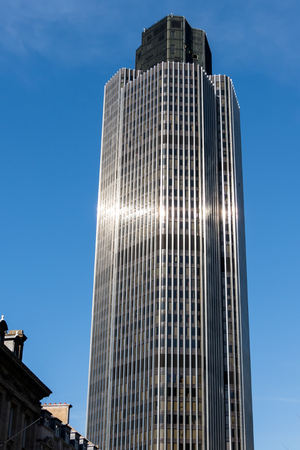 nat: View of the Nat West Tower in the City of London