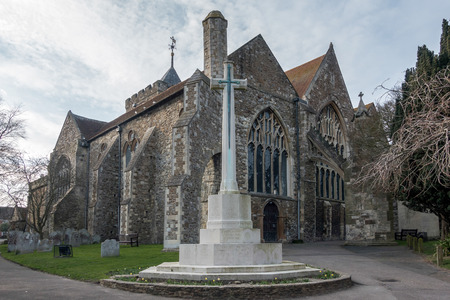 sone: The Parish Church of St Mary the Virgin in Rye East Sussex Stock Photo