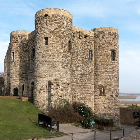 norman castle: View of the Castle in Rye East Sussex