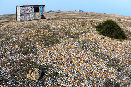 dungeness: Old shacks and boats on Dungeness beach