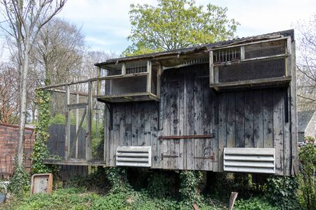 coop: Old chicken coop at St Fagans National History Museum