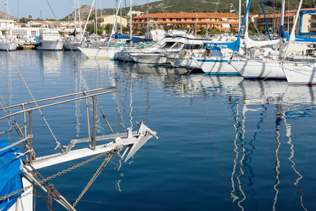 palau: Marina at Palau in Sardinia Editorial