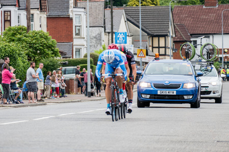 rival rivals rivalry season: Cyclists participating in the Velethon Cycling Event in Cardiff Wales on June 14, 2015