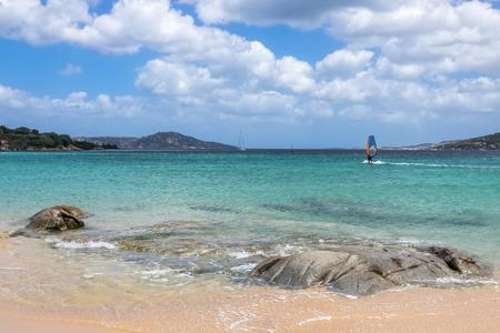 windsurfing: Windsurf en Porto Pollo en Cerdeña