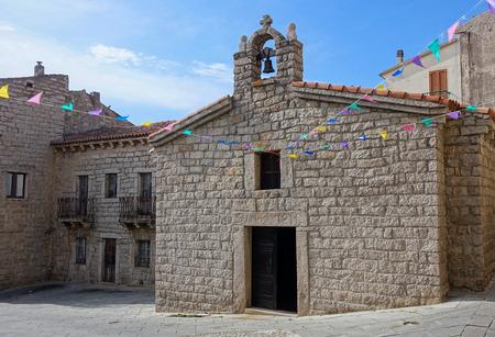 anna: Saint Anna Church in Arzachena Sardinia Stock Photo