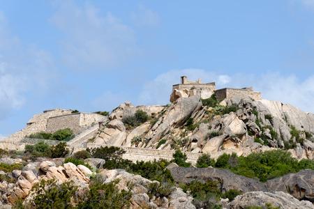 fortezza: Fortezza di Monte Altura near palau in Sardinia