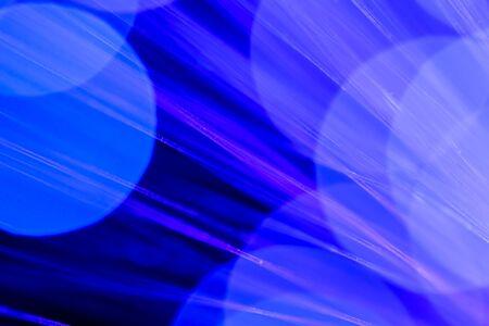 fiberoptics: Fibre Optic Abstract Stock Photo