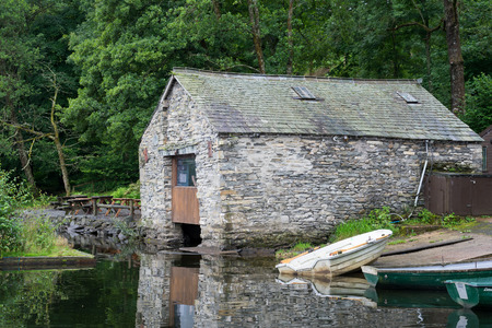 boathouse: Old Boathouse on Coniston Water