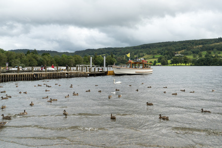 motor launch: Motor Launch on Coniston Water